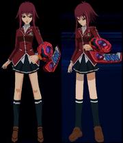 Teenage Akiza Full Body