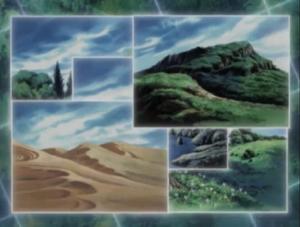 Duelist Kingdom terrains
