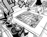 Dark Yugi and Mokuba Kaiba's Duel (manga)