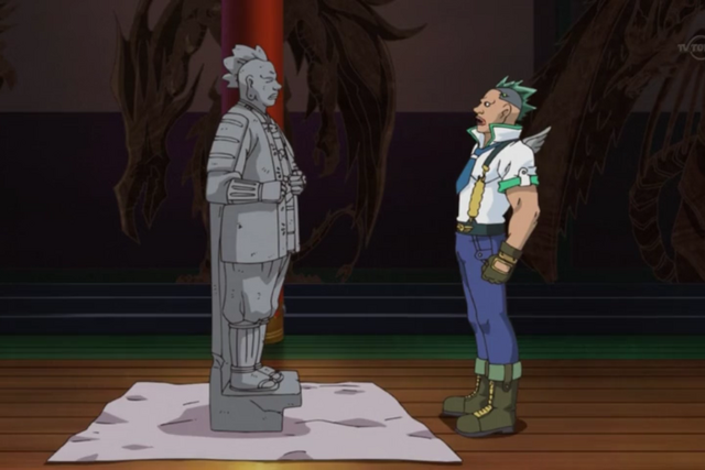 File:Gilag and Kiraku statue.png
