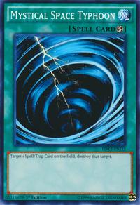 YuGiOh! TCG karta: Mystical Space Typhoon