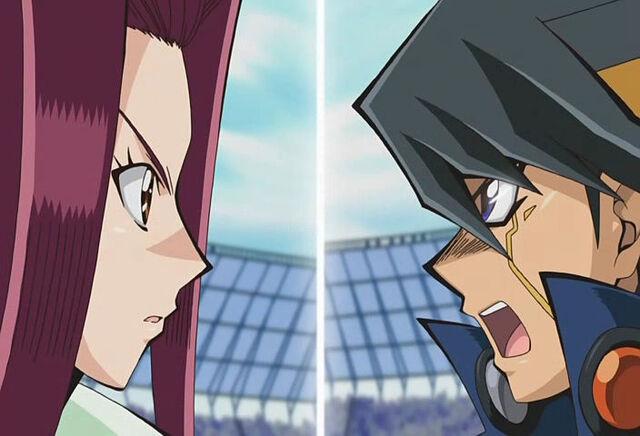 File:Akiza versus Yusei.jpg