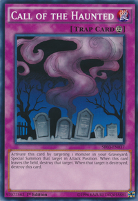 YuGiOh! TCG karta: Call of the Haunted