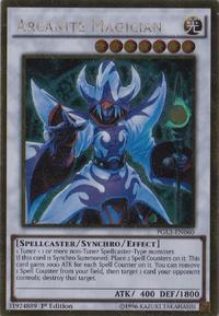 YuGiOh! TCG karta: Arcanite Magician