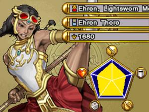 Ehren, Lightsworn Monk-WC11