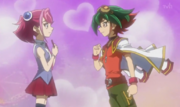 Yuya & Zuzu share a moment