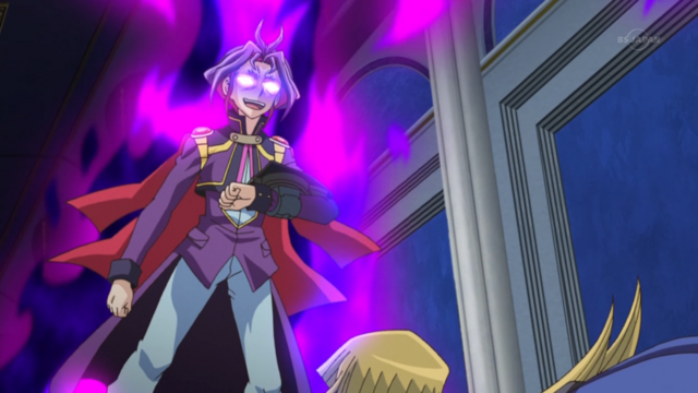 File:Yuri, Awakened, just before he sealed Alexis Rhodes into a Card.png