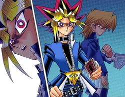 Jonouchi apparition helps Dark Yugi