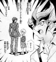 Mr. Heartland takes Haruto away