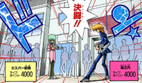Katsuya Jonouchi and Esper Roba's Duel (manga)