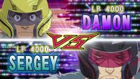 Damon VS Sergey
