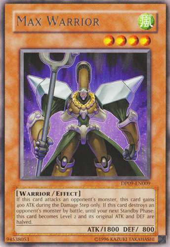 card appearancesmax warrior yugioh fandom powered