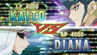 Kaito VS Diana