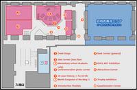 Yugioh worlds 2012 event map