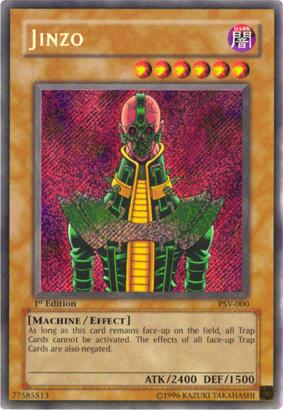 Yu-Gi-Oh!:Featured Card/Jinzo   Yu-Gi-Oh!   FANDOM powered