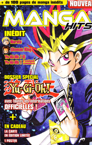 Manga Hits promotional card