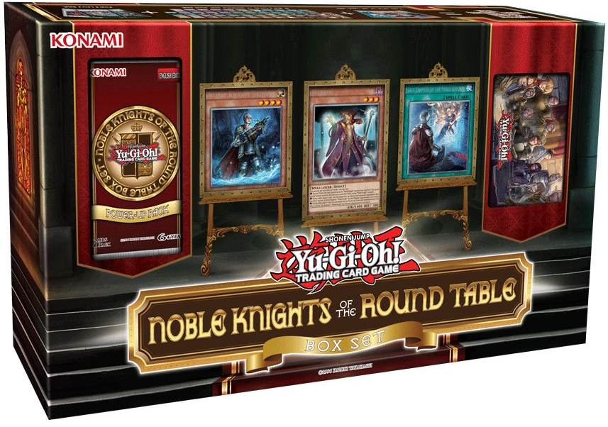 Noble Knights Of The Round Table Box Set Yu Gi Oh