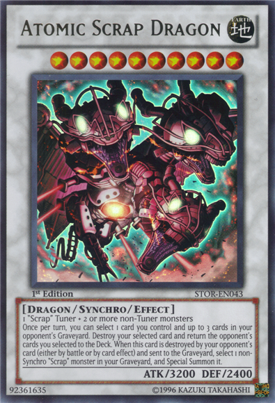 Atomic Scrap Dragon | Yu-Gi-Oh! | FANDOM powered by Wikia