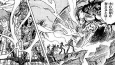 Zorc final battle - manga