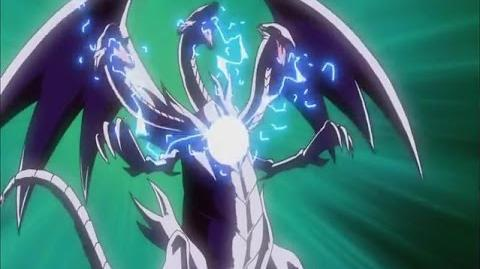 Zorc VS Blue Eyes, Blue Eyes Ultimate, and Dragon Master Knight
