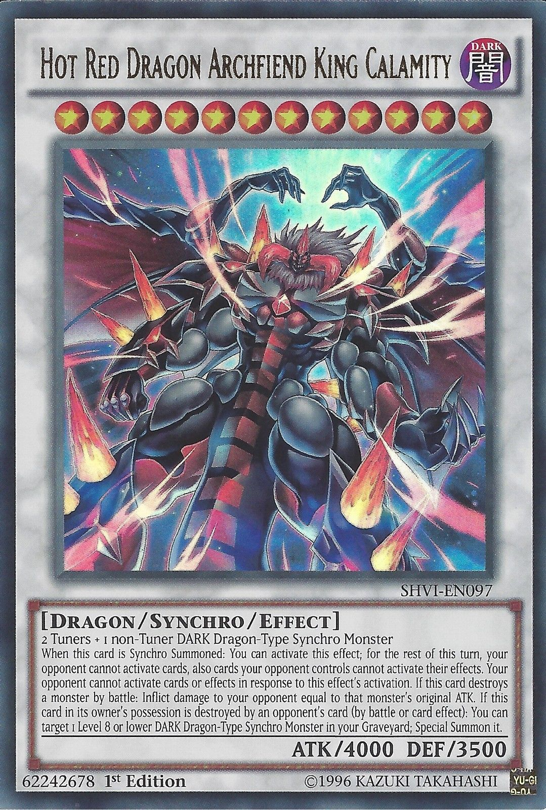 red dragon archfiend king calamity yu gi oh fandom