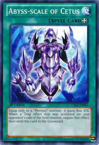 YuGiOh! TCG karta: Abyss-scale of Cetus
