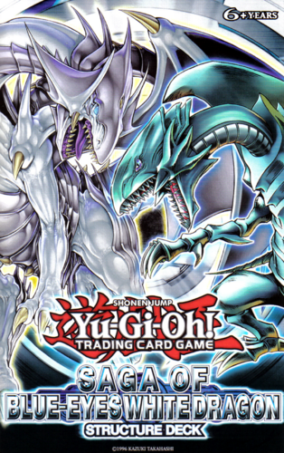 Saga of Blue-Eyes White Dragon Structure Deck