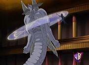 Illusion Magician immobilizes Diabound