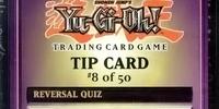 Reversal Quiz (Tip Card)