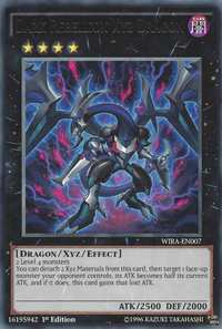 YuGiOh! TCG karta: Dark Rebellion Xyz Dragon