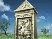 Grace Stone Monument