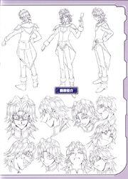 Yusuke lineart