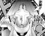 Dark Yugi and Dark Bakura's Duel (manga)