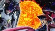 5Dx143 Yusei dueling Bruno