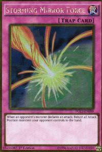 YuGiOh! TCG karta: Storming Mirror Force