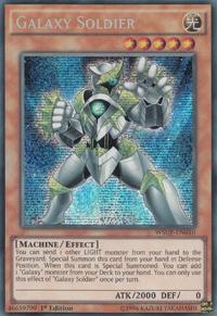 YuGiOh! TCG karta: Galaxy Soldier