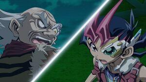 Rokujuro versus Yuma Tsukumo