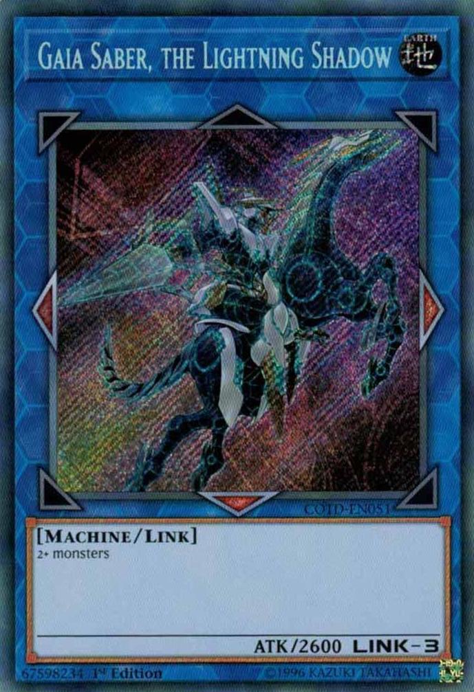 Gaia Saber, the Lightning Shadow | Yu-Gi-Oh! | FANDOM