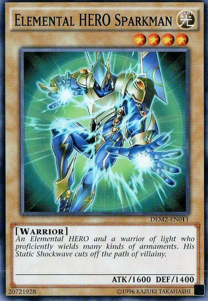 Elemental Hero Sparkwoman