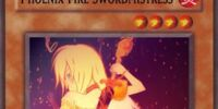 Phoenix Fire Swordmistress