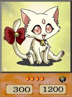 White Petit Kitten dubbed anime