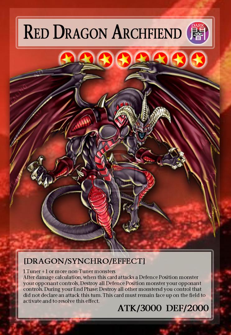 image red dragon archfiend full art orica by thebigeye856