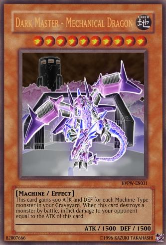 Dark Master Mechanical Dragon