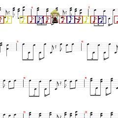 Lost in sheet music
