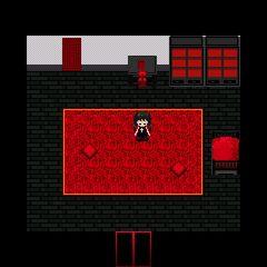 Gorotsuki in her room