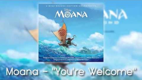 Moana - You're Welcome