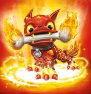 Fire Bone Hot Dog