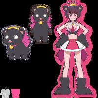 Ginko Yurishiro Bear Form