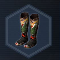 Tribal boots