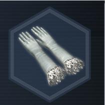 Silk Gloves L